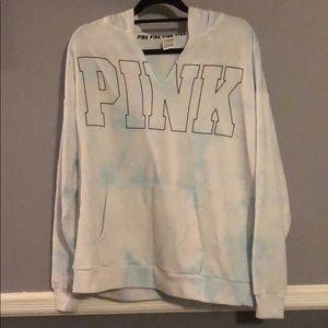 Victoria Secret PINK pullover hoodie Tiedye